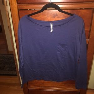Fabletics workout long sleeve shirt